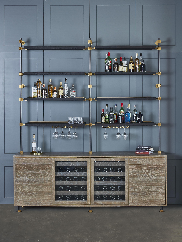 The Loft 3 Post Back Bar Unit - Amuneal: Magnetic Shielding & Custom ...
